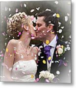 Anthony And Claire Metal Print