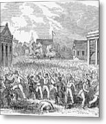 Anti-german Riot, 1851 Metal Print
