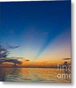 Anticrepuscular Rays Metal Print