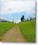 Antietam Battle Of Bloody Lane Metal Print