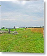 Antietam Battle Of The Cornfield Metal Print