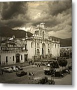 Antigua Cathedral Metal Print