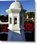 Antigua Chimney Metal Print