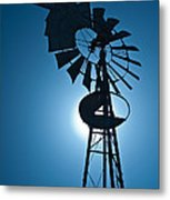 Antique Aermotor Windmill Metal Print