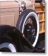 Antique Classic Vintage Car Metal Print
