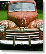 Antique Ford Car 8 Metal Print