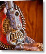 Antique Hand Drill 3912  Metal Print
