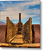 Antique Mining Implement Metal Print