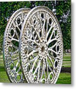 Antique Paddle Wheel University Of Alabama Birmingham Metal Print