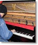 Antique Playtone Piano Metal Print