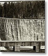 Antique Polish Waterfall Metal Print