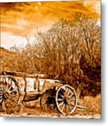 Antique Wagon Metal Print