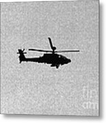 Apache Attack Helicopter Metal Print