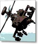 Apache Preparing To Attack Metal Print