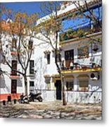 Apartment Houses In Marbella Metal Print