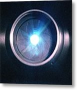 Aperture Flare Metal Print by Richard Kail