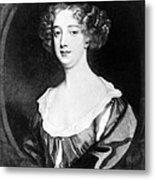 Aphra Behn 1640-1689, English Novelist Metal Print