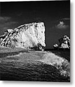 Aphrodites Rock Petra Tou Romiou Republic Of Cyprus Europe Metal Print