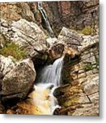Apikuni Waterfall Metal Print