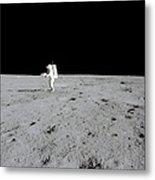 Apollo 14 Astronaut Makes A Pan Metal Print