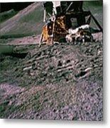 Apollo 15 Lunar Module Metal Print