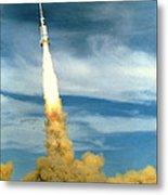 Apollo Mission Test Metal Print