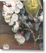 Apple Blossom Dreaming Metal Print