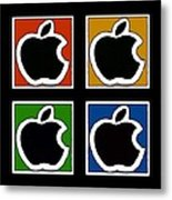 Apple Colors Metal Print