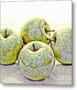 Apple Dust Metal Print by David Taylor