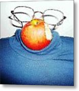 Apple Mystic-steve Jobs Metal Print