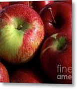 Apples For Sale Metal Print