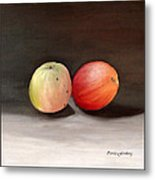 Apples Still Life Metal Print by Carola Ann-Margret Forsberg
