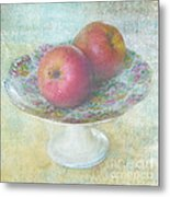 Apples Still Life Print Metal Print