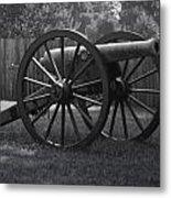 Appomattox Cannon Metal Print