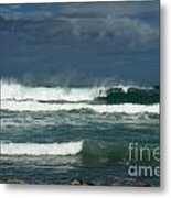 Approaching Storm In Maui Metal Print