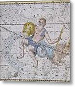 Aquarius And Capricorn Metal Print by A Jamieson