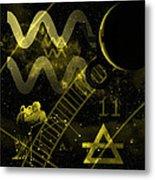 Aquarius Metal Print by JP Rhea
