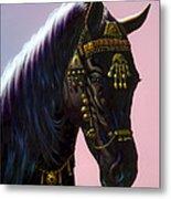 Arab Horse Metal Print