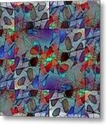 Arboretum Colorful Metal Print
