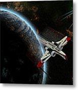 10117 Arc-170 Starfighter Metal Print