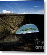 Arch And Islands Metal Print