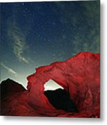 Arch And Stars Metal Print