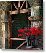 Arch At Mission San Juan Capistrano Metal Print