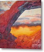 Arch Element Too Metal Print by Vikki Wicks