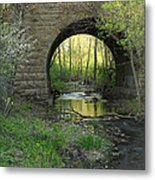 Arch In Spring 3 Metal Print