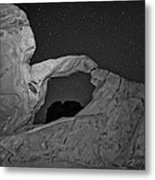 Arch In Valley Of Fire Nevada Metal Print