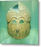 Archaeological Conservation Metal Print