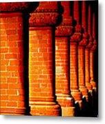Archaic Columns Metal Print by Karen Wiles