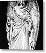Archangel By Night Metal Print