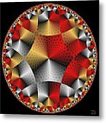 Archangel Michael's Shield Metal Print
